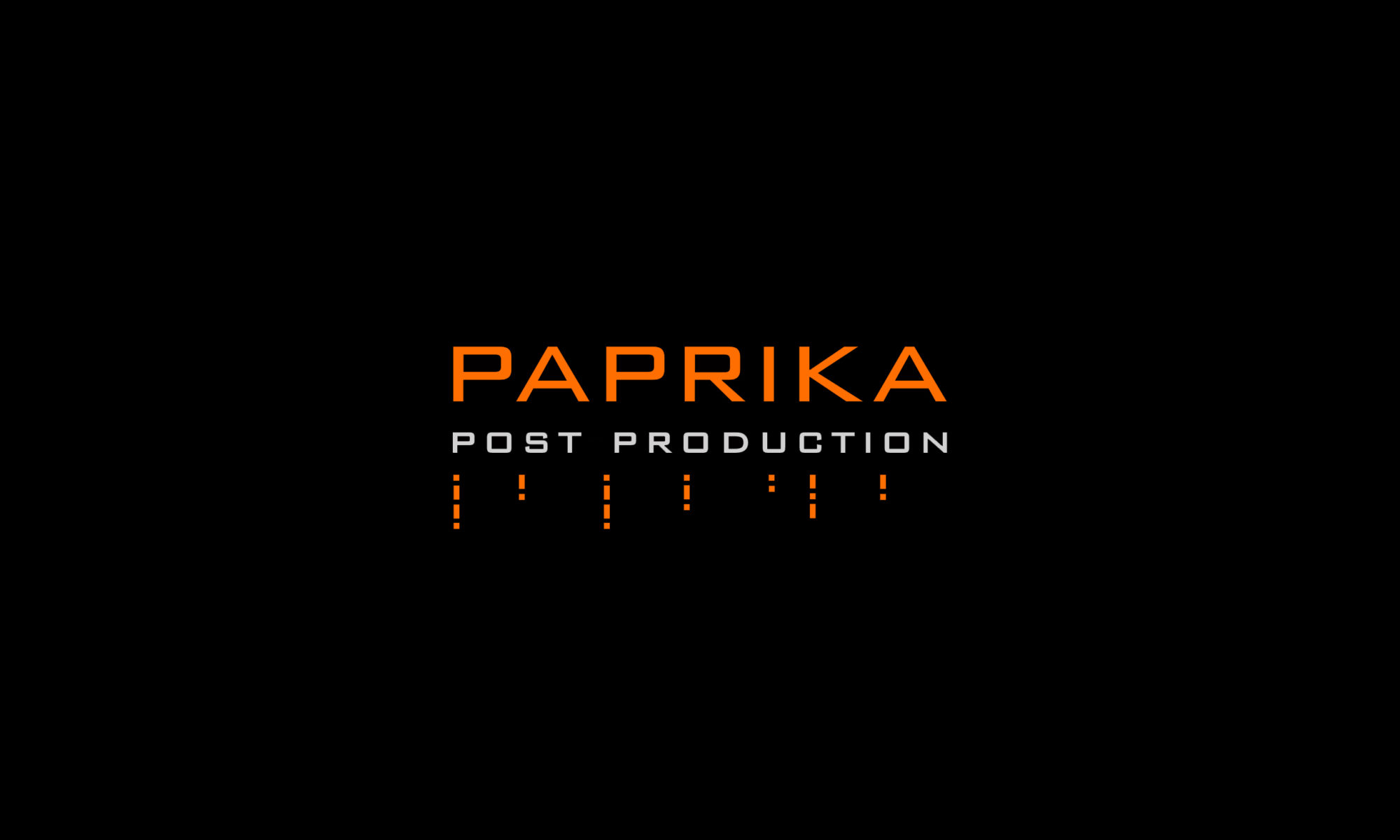 Paprika Post-Production